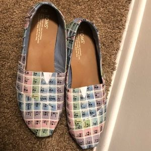 Toms periodic table flats